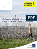 Amnesty Refugees Welcome Survey_GlobeScan Topline Report_May2016_