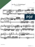 Beethoven Ludwig Van Sonata Pathetique