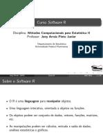 Metodos Computacionais Para EstaTIstica II R