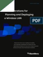 Deploying Wireless Lan