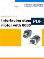 Interfacing Stepper Motor With 8085
