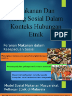 Makanan Dan Ruang Sosial Dalam Konteks Hubungan Etnik