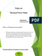 ppt on thermal power plant