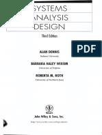 Systems Analysis Design