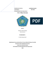 Laporan Kasus Ulkus Kornea - Wismoyo Indra Zolman - 10542015810