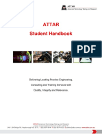 ATTAR Student Handbook Latest