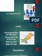 Pakistan Demographics by Umer Rajput