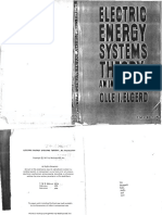 Electric Energy System Theory an Introduction Olle i Elgerd PDF