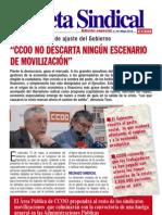 18. Gaceta Sindical Especial Rechazo Plan de Ajuste