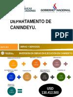 Presentación Dpto. Canindeyu 2016