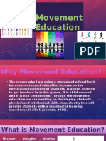 Why Movement Education