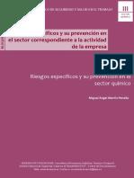 MARTIN PENELLA Miguel Angel 2014 . Riesgos Especificos y Su Prevencion en El Sector Quimico