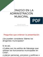Liderazgo en El Sector Municipal