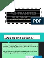 4.2 Trámites Aduanales