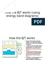 Energy Band Bjt