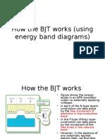 Energy Band Bjt