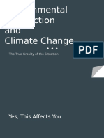 environmental destruction-climate change
