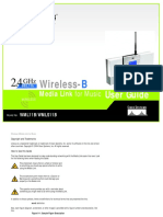 Linksys Wml11b Users Manual 657707