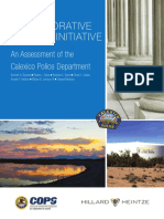 Assessment of the  Calexico Police Department