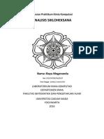 Praktikum Kimia Komputasi Analisis Sikloheksanaa 11maret2016_bayu Megananda