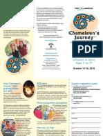 chameleons journey brochure