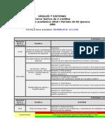 Agenda Señales y Sistemas