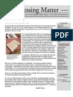 DVC-GBW Fall 2015 Newsletter
