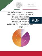 Estudio Analitico de Apoyos Federales Para Areas de Mejora ADM