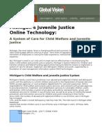 GVT Case Study - JJOLT Michigan's Juvenile Justice Online Technology