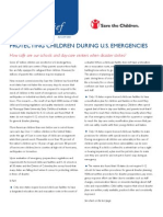 Protecting Children During U.S. Emergencies
