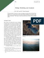 Modelling IRAN floating Bridge