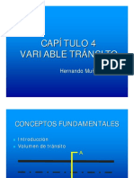 Capítulo 4-Variable Tránsito
