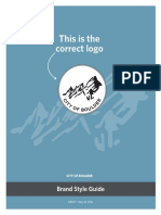 City of Boulder Brand Guidelines (Updated May 2016)