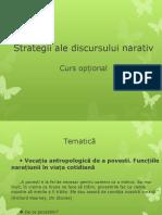 Strategii Ale Discursului Narativ 1