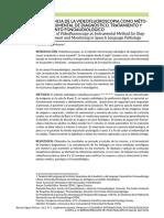 Importancia de La Videofluoroscopia Como Método Instrumental de Diagnóstico, Tratamiento y Seguimiento Fonoaudiológico