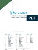 Manual Ejemplos Facturación Facturama