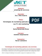 Estrategias de Marketing Aplicada a Los Servicios
