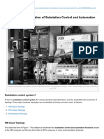Hardware Implementation of Substation Control and Automation