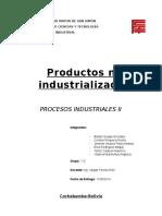 procesos de productos