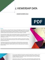 Global Viewership Data