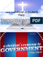 New Republican and Liberty Party
