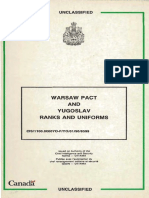 1990 Warsaw Pact Uniforms