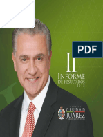 Segundo Informe de Gobierno Ciudad Juárez 2015