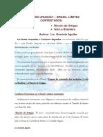 FRONTERA URUGUAY Limites Contestados Graciela Aguilar