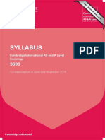 Sociology 2015 Syllabus