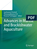 Advances in Marine and Brackish Aquaculture