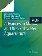 Advances in Marine and Brackish Aquaculture