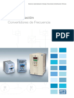 WEG Convertidores de Frecuencia Serie Cfw 50022101 Catalogo Espanol