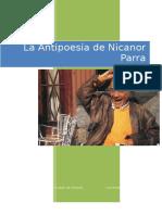 La Antipoesía de Nicanor Parra