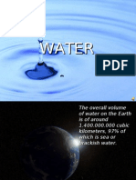 Presentation on Water